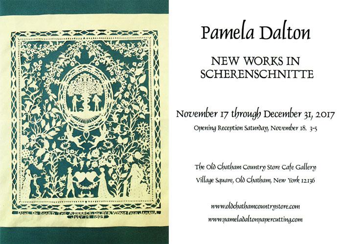 Pamela Dalton Scherenschnitte - Show Schedule